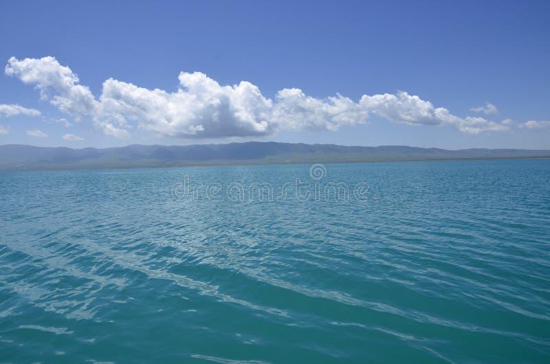 lake qinghai arkivbilder