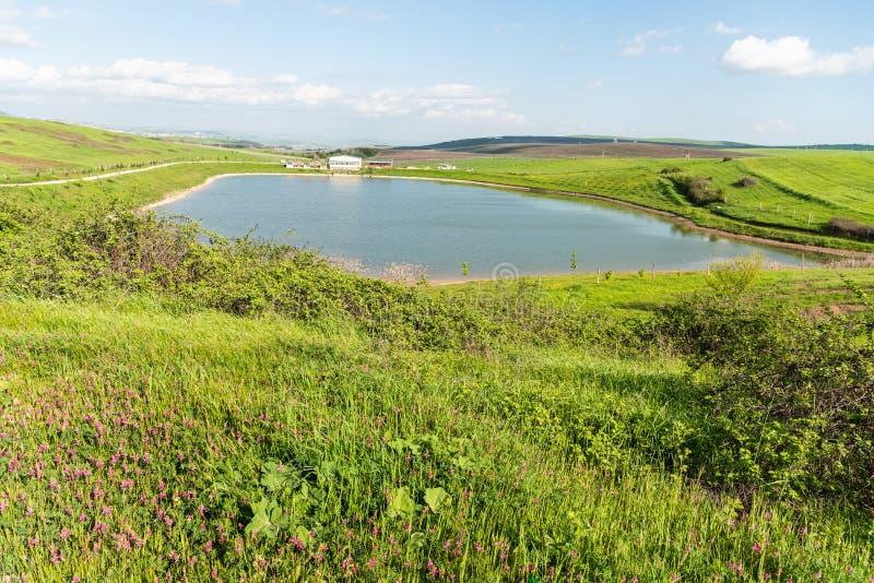 Lake and recreation area near Shamakhi, Azerbaijan. Lake and recreation area near Shamakhi town of Azerbaijan royalty free stock photos