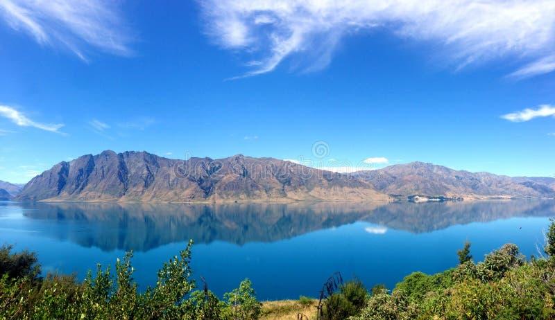 Lake of reflection stock images