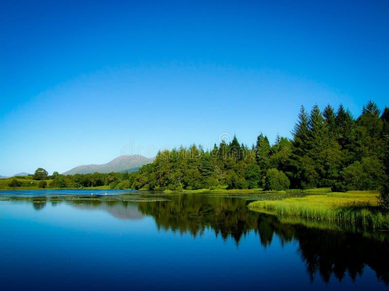 Lake Reflections royalty free stock photography