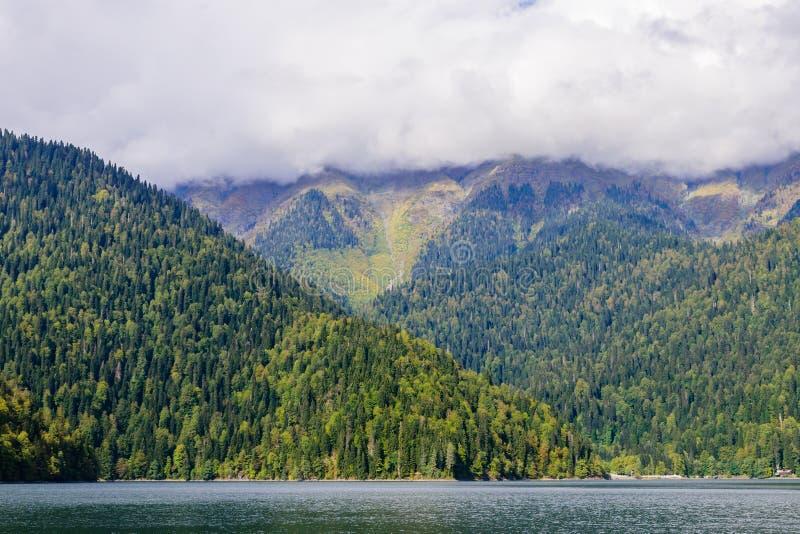 Lake Ritsa stock photography