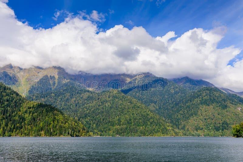 Lake Ritsa royalty free stock photography