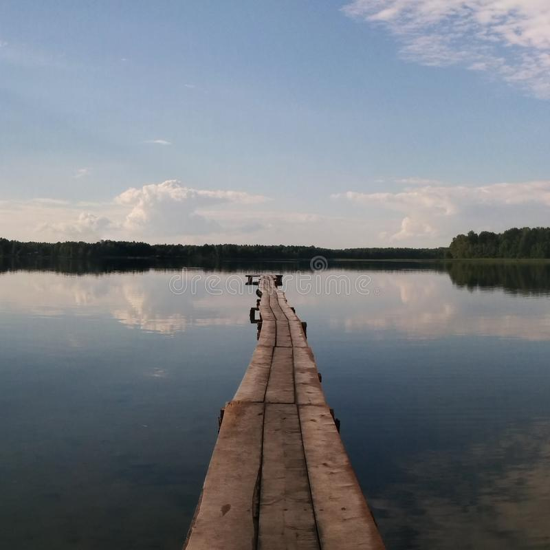 lake road obraz royalty free
