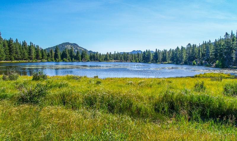 Rocky Mountain National Park in Colorado stock images