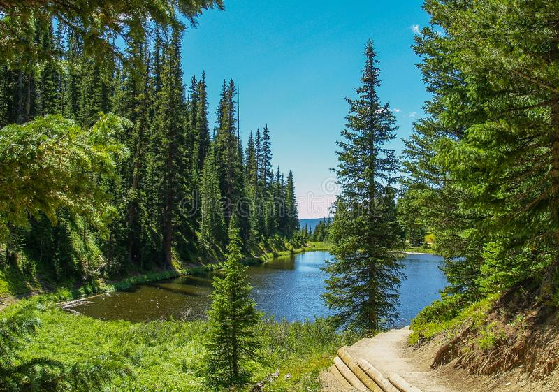 Rocky Mountain National Park in Colorado royalty free stock image