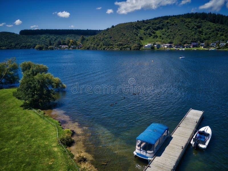Lake Rotoiti, NZ stock image