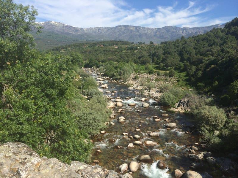 Lake& x27 ; s Espagne images libres de droits
