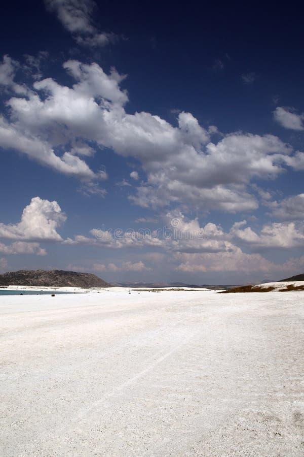 Lake Salda stock photo