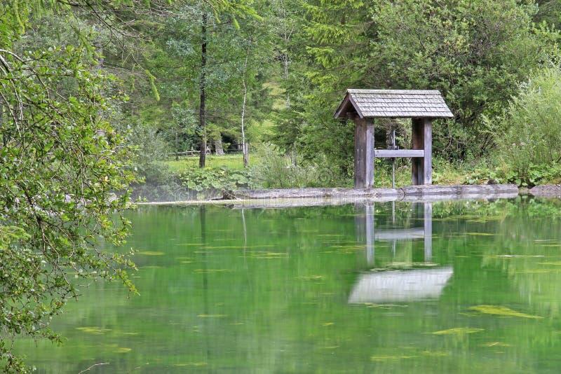 Lake Schiederweiher Stock Photography
