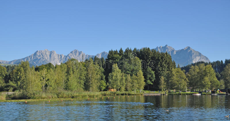 Download Lake Schwarzsee,Kitzbuehel,Tirol,Austria Royalty Free Stock Photos - Image: 30217618