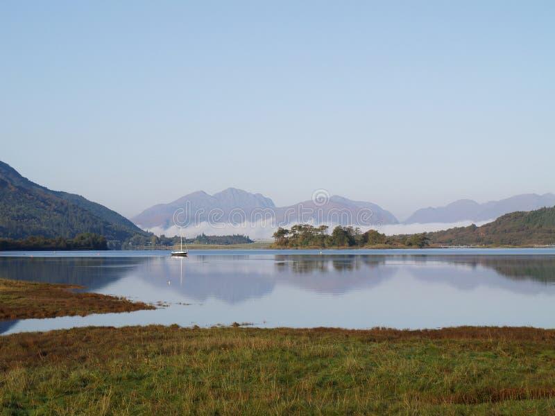Lake At Scotland Royalty Free Stock Photos