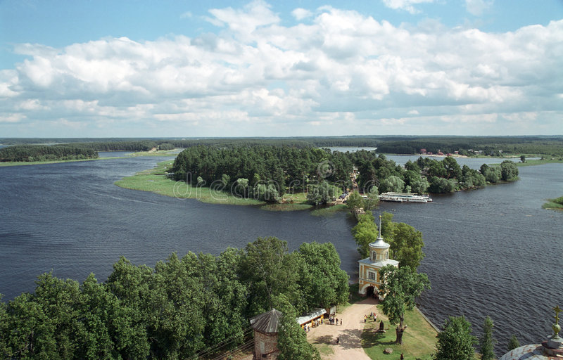Lake Seliger. Russia, Tver area royalty free stock photos