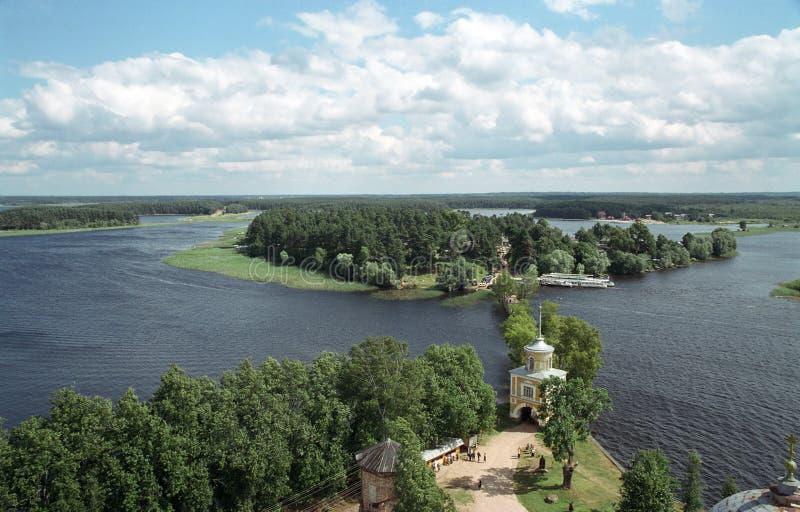 Lake Seliger royalty free stock photos