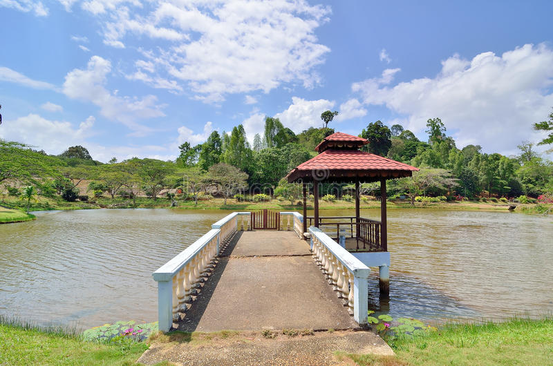 Download Lake side view stock photo. Image of beautiful, peace - 39511226