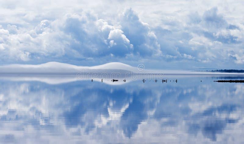 lake siljan sweden fotografering för bildbyråer