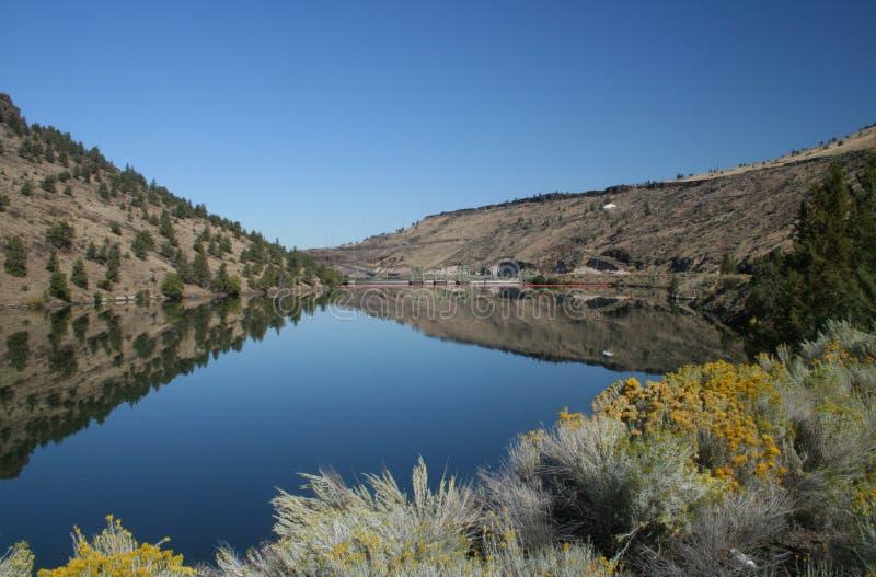 Lake Simtustus royalty free stock photography