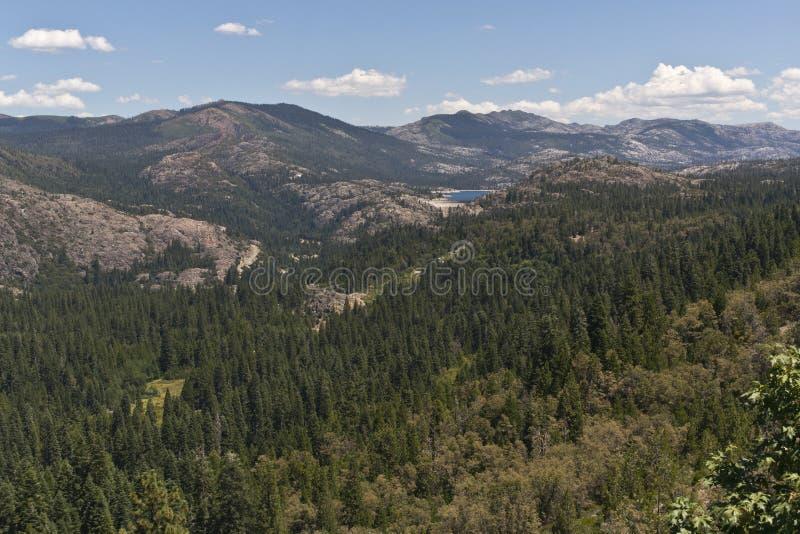 Download Lake Spaulding In The Sierra Nevada Range Stock Photo - Image of beauty, flora: 25841188
