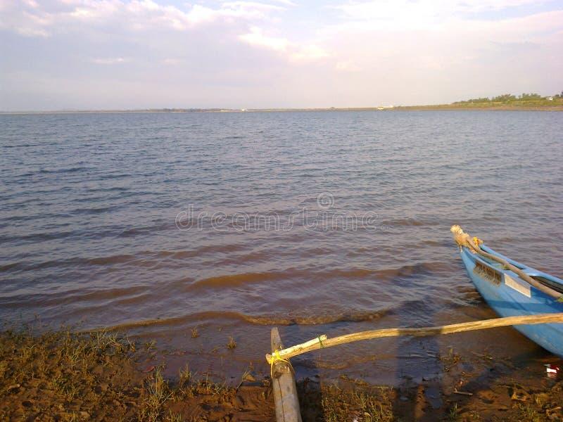 Lake of sri lanka. This is Udawalawa beautiful lake of sri lanka stock image
