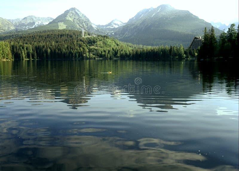 LAKE STRBA, SLOVAKIA royalty free stock images