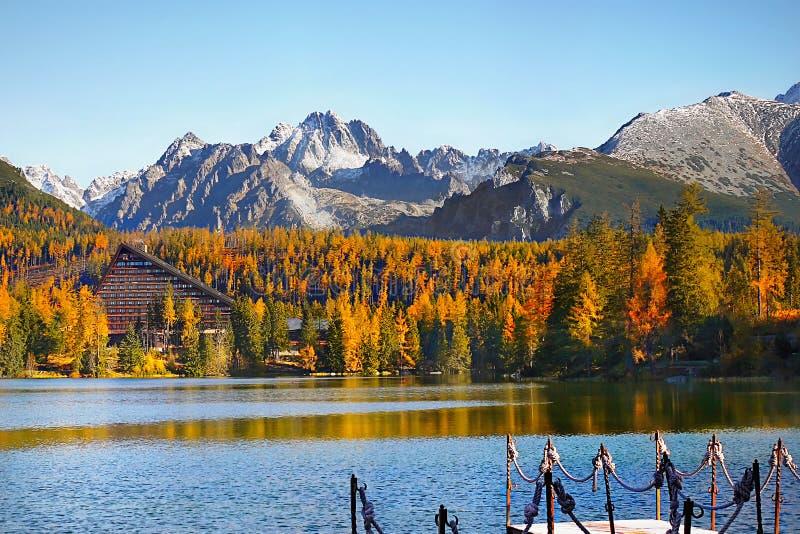 Download Lake Strbske Pleso, High Tatras, Slovakia Stock Image - Image of outdoor, nature: 82728977