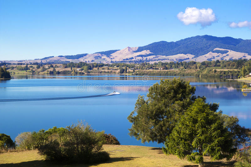 Download Lake summer landscape stock photo. Image of panoramic - 39513060
