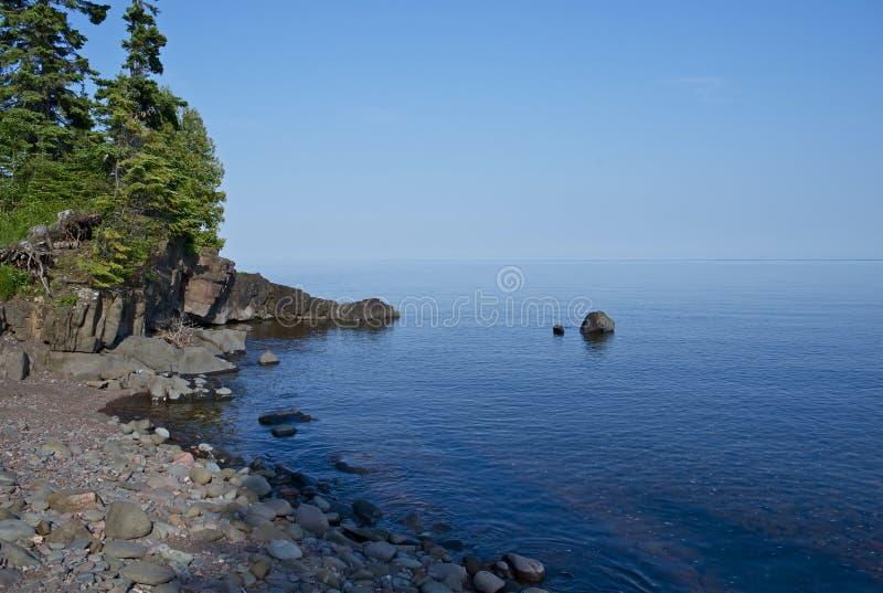 Lake Superior Минесота стоковая фотография