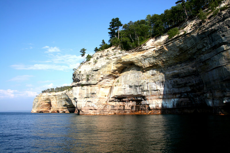 Download Lake Superior Rock Formation Stock Image - Image: 1017719