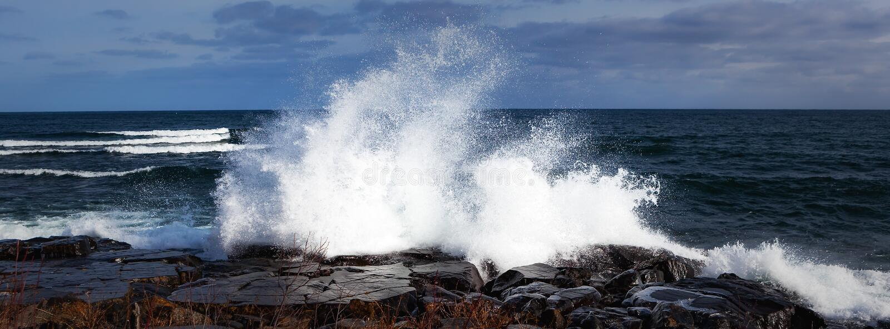 Lake Superior Shore royalty free stock photography