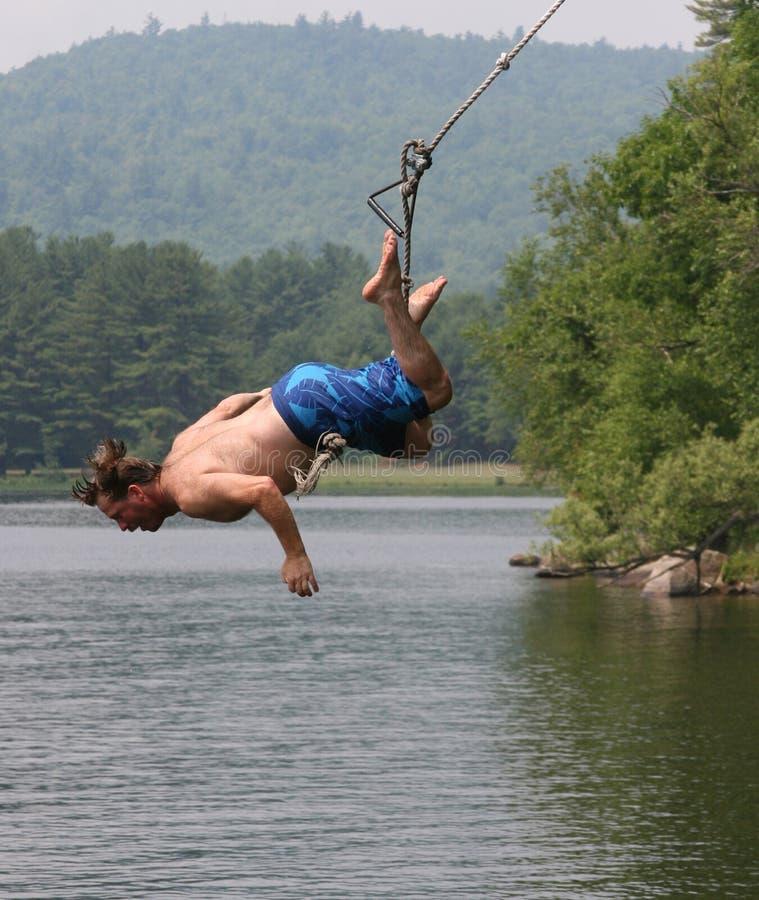 Lake Swing stock photo