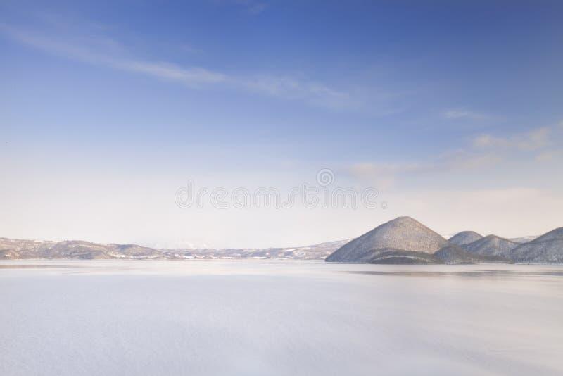 Lake Tōya stock images