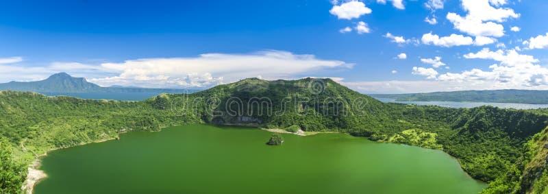 Lake taal volcano tagaytay philippines royalty free stock image