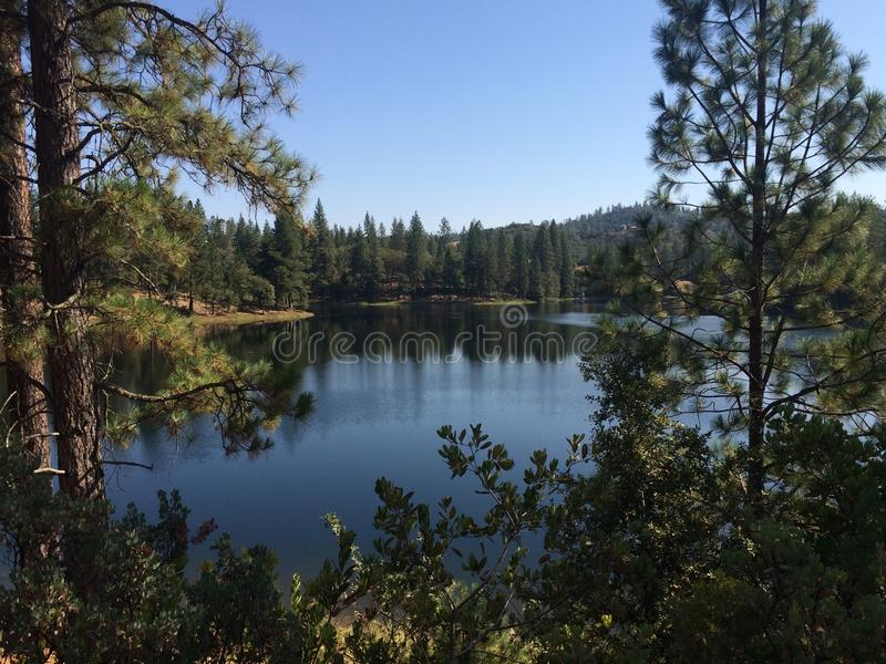Lake Tabeaud stock photo