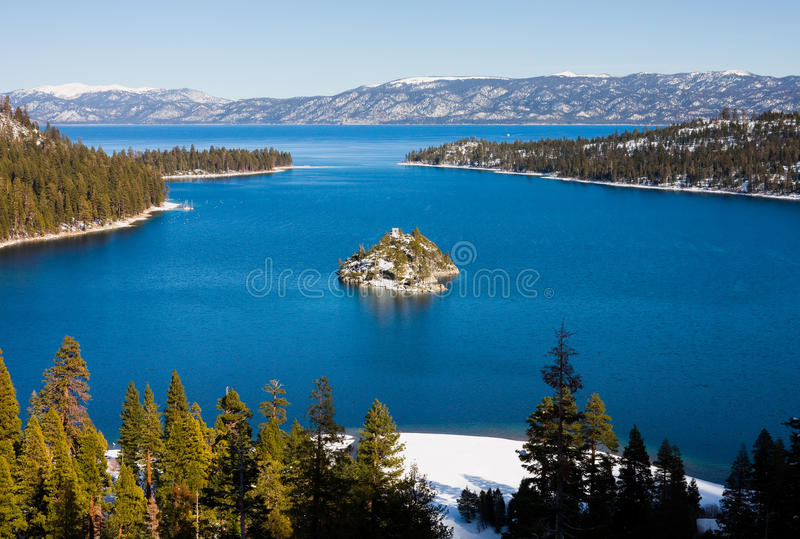 Lake Tahoe photos libres de droits