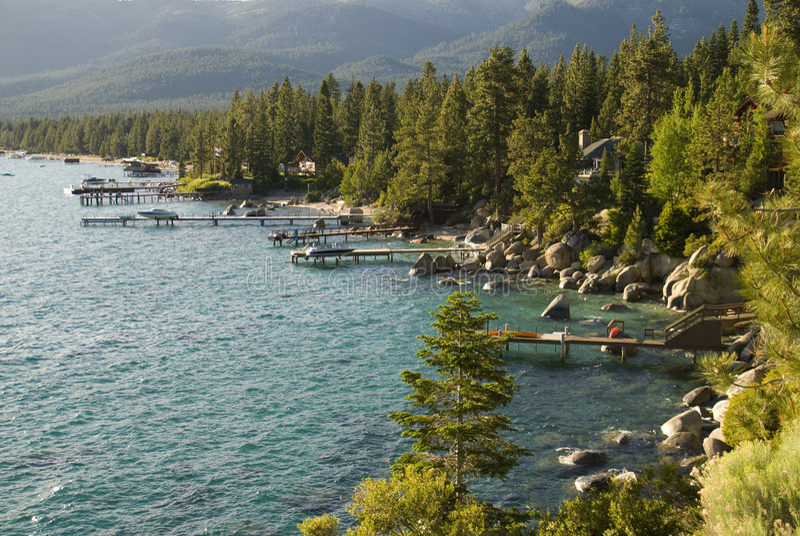 Lake Tahoe imagen de archivo libre de regalías