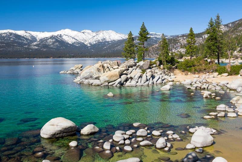 Lake Tahoe arkivbilder