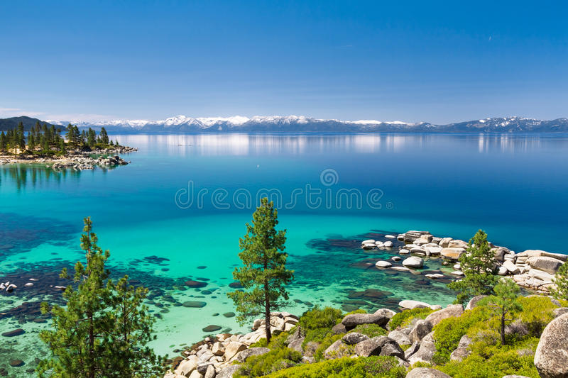 Lake Tahoe stockfotografie