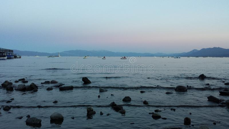 Lake Tahoe images libres de droits