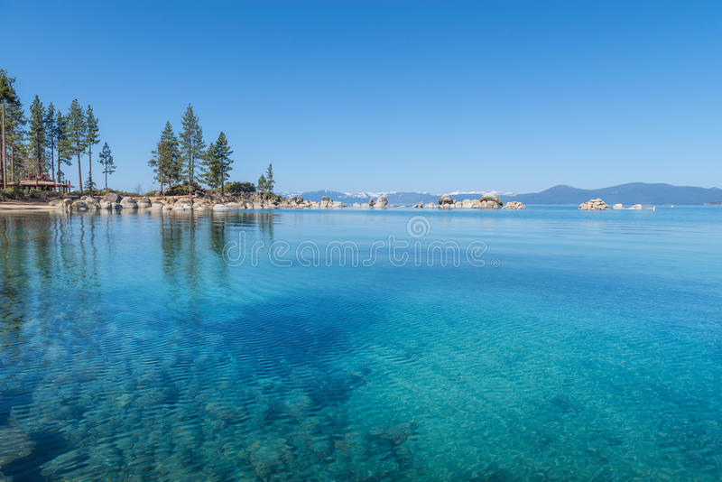 Download Lake Tahoe stock image. Image of clean, cloud, forest - 30652479