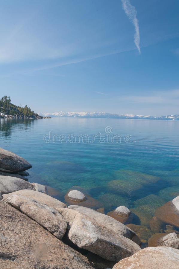 Download Lake Tahoe stock image. Image of green, holiday, calm - 31765711