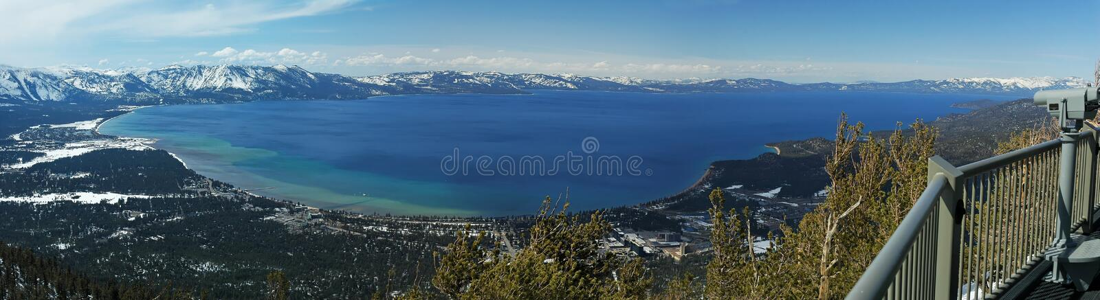 Lake Tahoe, California immagine stock