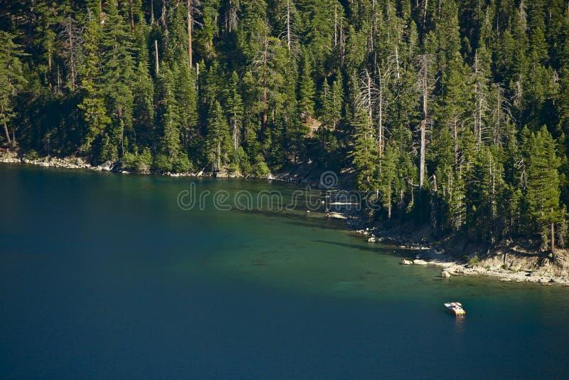 Lake Tahoe fjärd arkivbild