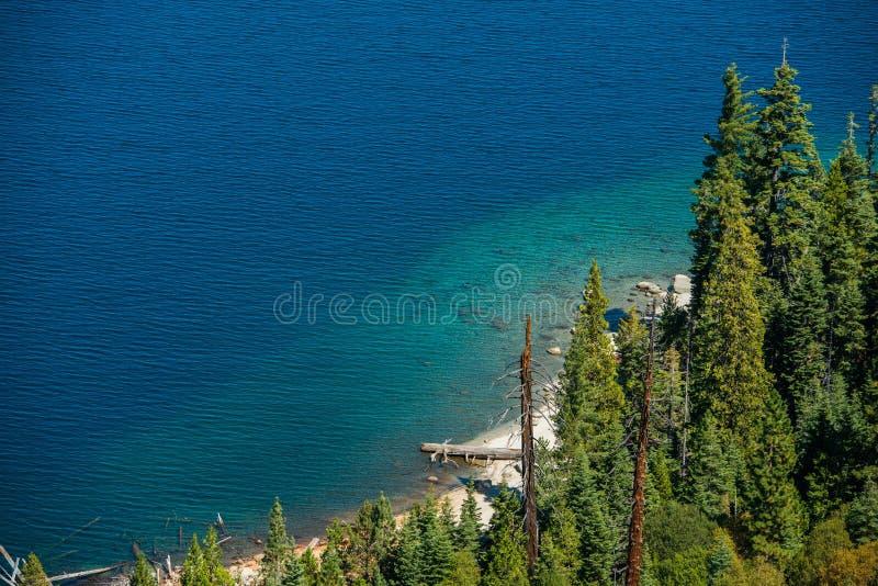 Lake Tahoe fjärd royaltyfria bilder