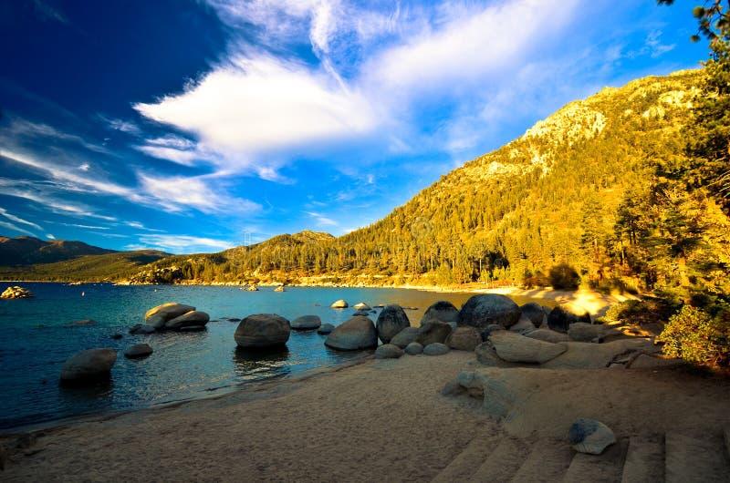 Lake Tahoe Kalifornien, USA arkivbilder