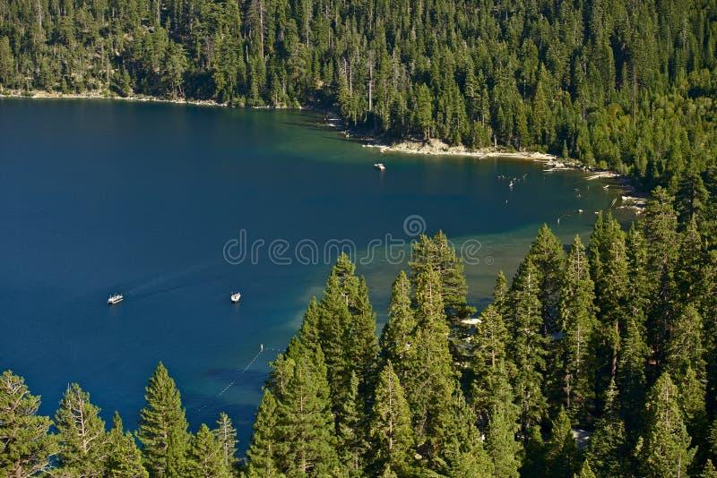 Lake Tahoe landskap arkivbild