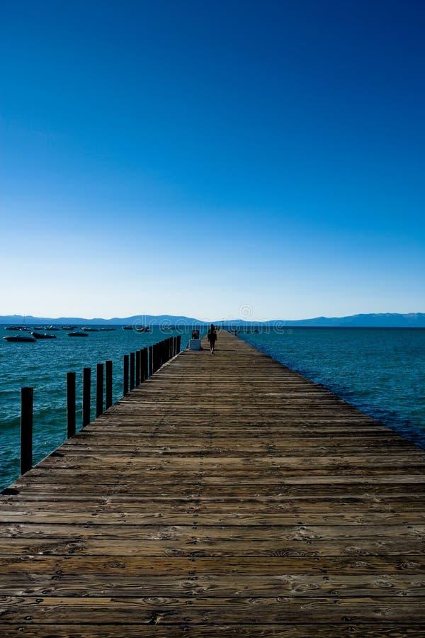Lake Tahoe Pier Stock Images