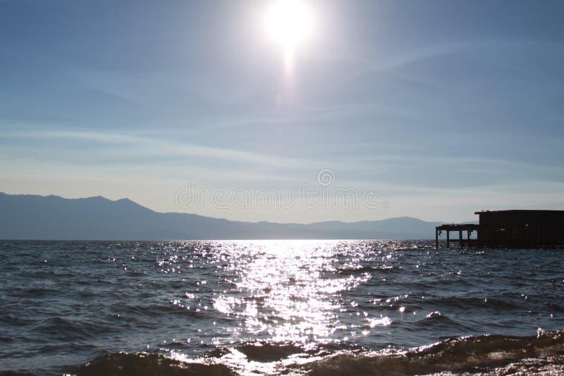 Lake Tahoe sjö arkivbilder