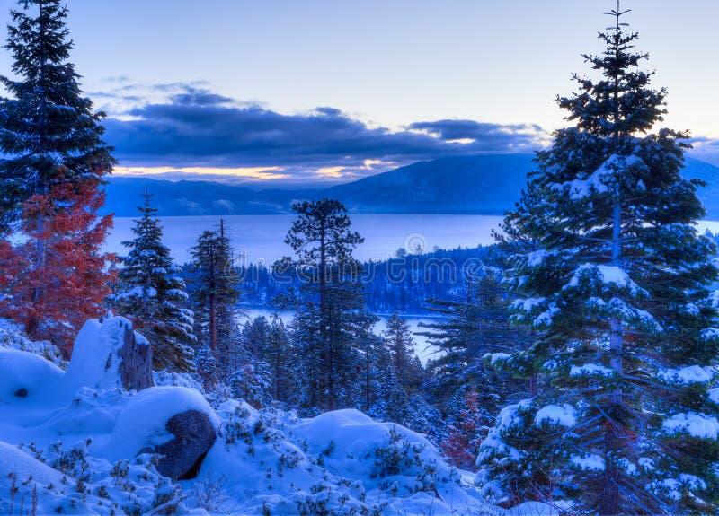 Download Lake Tahoe stock image. Image of star, tahoe, lake, snow - 39501709