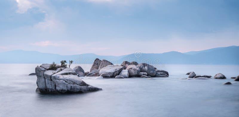Lake Tahoe USA royaltyfri fotografi