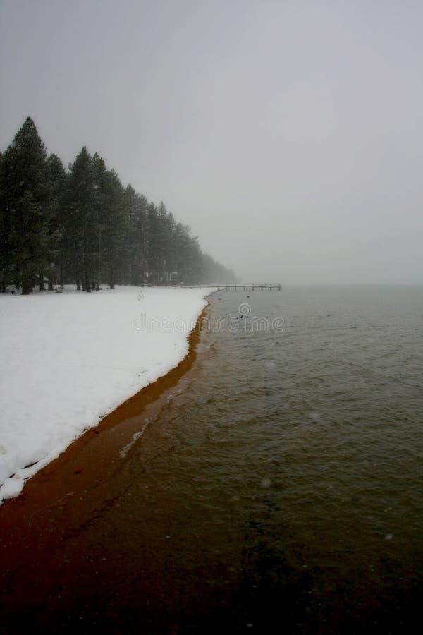 Lake Tahoe Winter royalty free stock photography