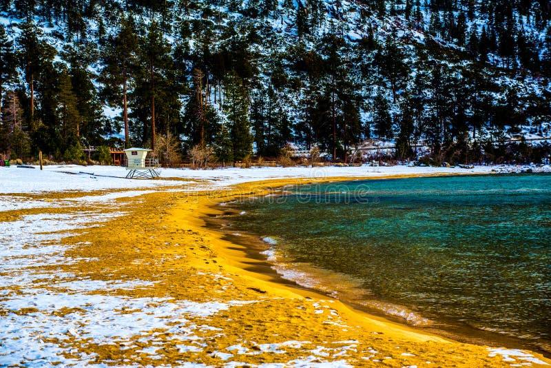 Lake Tahoe Winter royalty free stock image
